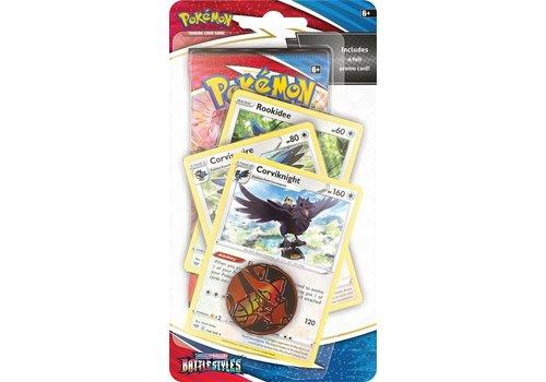 Pokémon TCG - Sword & Shield Battle Styles Premium Checklane Corviknight