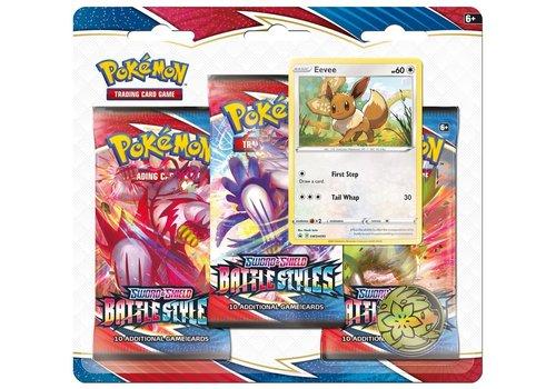 Pokémon TCG - Sword & Shield Battle Styles Booster Blister Eevee
