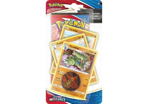 Pokémon TCG - Sword & Shield Battle Styles Premium Checklane Tyranitar