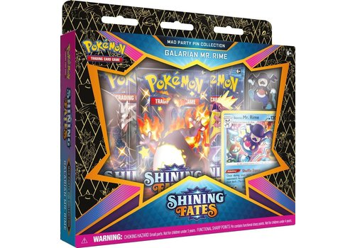 Pokémon TCG - Shining Fates Mad Party Pin Collection Galarian Mr. Rime
