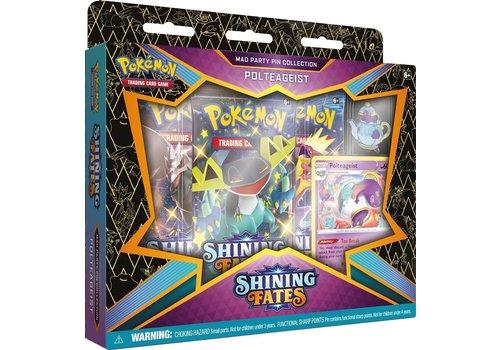 Pokémon TCG - Shining Fates Mad Party Pin Collection Polteageist