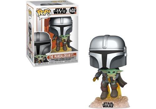 Star Wars The Mandalorian POP! - The Mandalorian with the Child / Baby Yoda