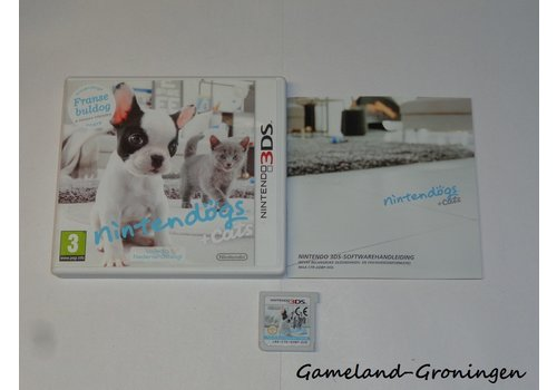Nintendogs + Cats French Bulldog & New Friends (Complete, HOL)