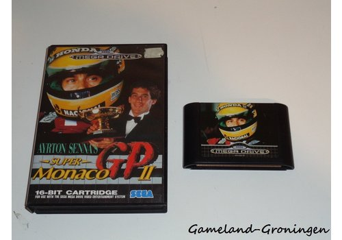 Ayrton Senna's Super Monaco GP II (Boxed)