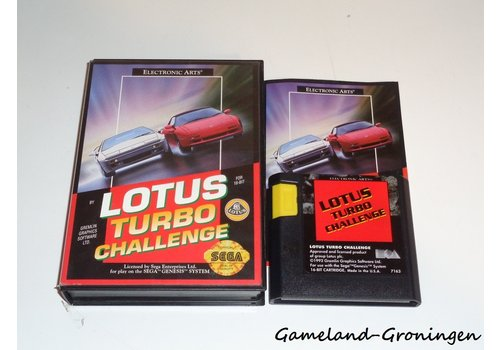 Lotus Turbo Challenge (Complete, Genesis)