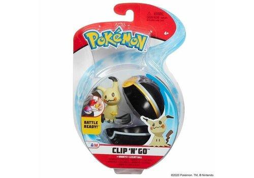 Pokémon - Clip 'n Go Mimikyu & Luxury Ball