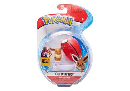 Pokémon - Clip 'n Go Eevee & Poke Ball