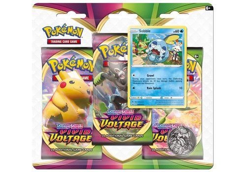 Pokémon TCG - Sword & Shield Vivid Voltage Booster Blister Sobble