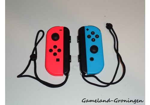 Joy-Con Controllers Pair Red & Blue