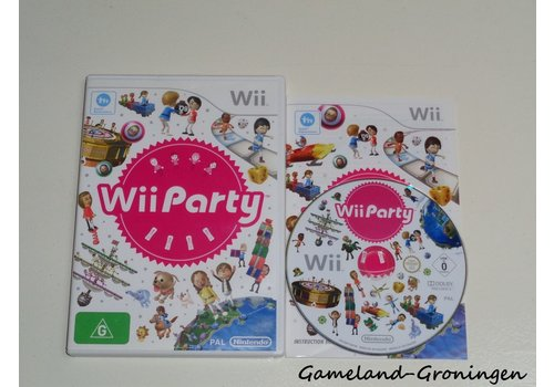 Wii Party (Complete, EUR)