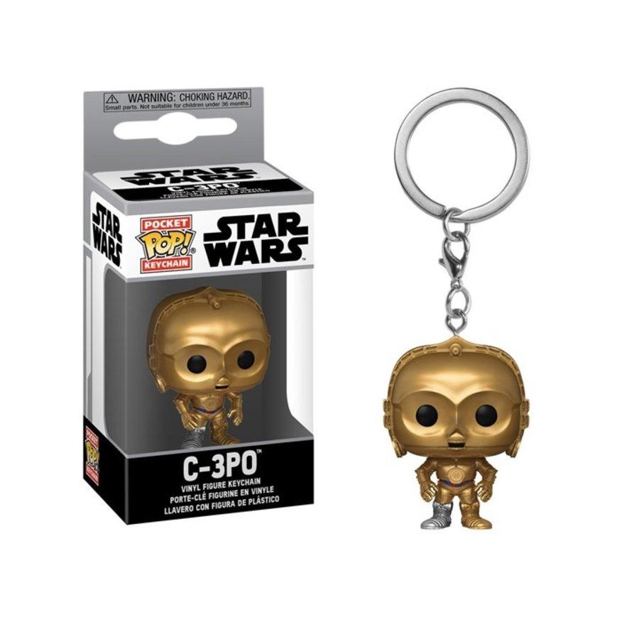 Star Wars Pocket POP Keychain - C-3PO 5 cm (New)