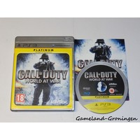 Call of Duty World At War (Complete, Platinum)