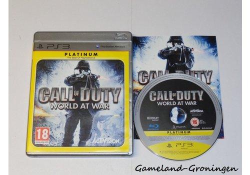 Call of Duty World At War (Compleet, Platinum)
