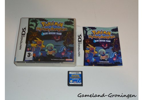 Pokemon Mystery Dungeon Blue Rescue Team (Complete, HOL)