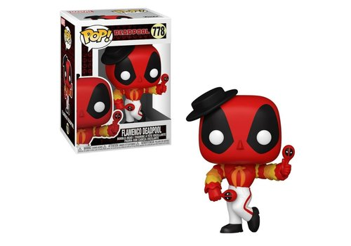 Deadpool 30th Anniversary POP! - Flamenco Deadpool
