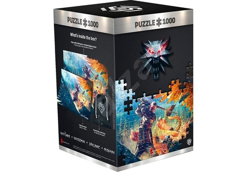 The Witcher - Griffin Fight Puzzel