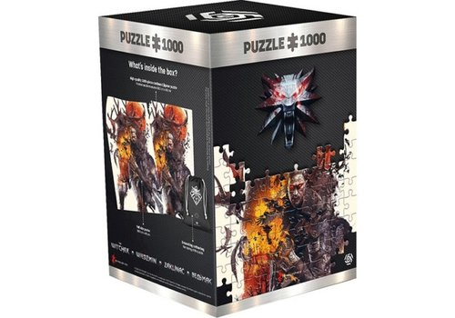 The Witcher - Monsters Puzzle