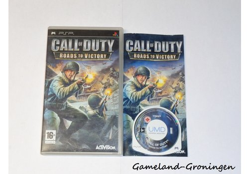 Call of Duty Roads to Victory (Compleet)