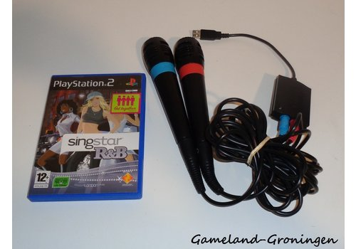 SingStar R&B with 2 Microfoons (Complete)