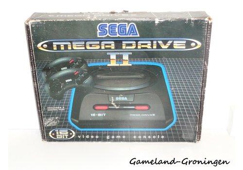 Sega Mega Drive II with 2 Controllers & Wiring (Complete)