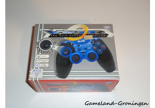 PlayStation 1 Controller Viper Pro Grip Blaze (Blue)