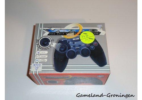 PlayStation 1 Controller Viper Pro Grip Blaze