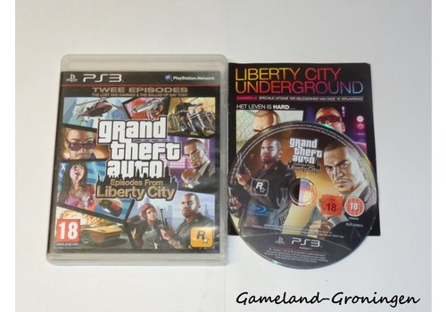 Grand Theft Auto Episodes From Liberty City (GTA) (Complete)