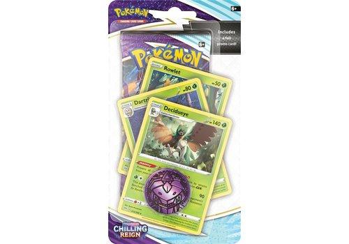 Pokémon TCG - Sword & Shield Chilling Reign Premium Checklane Rowlet