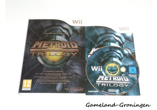 Metroid Prime Trilogy (Compleet, HOL)
