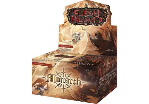 Flesh and Blood TCG - Monarch Unlimited Booster Pack