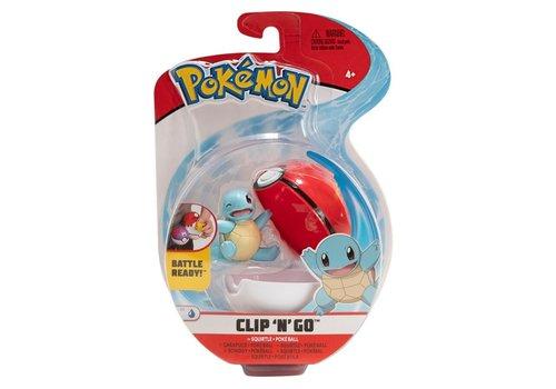 Pokémon - Clip 'n Go Squirtle & Poké Ball