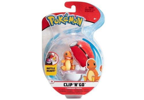 Pokémon - Clip 'n Go Charmander & Poké Ball