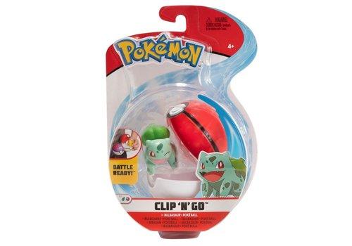 Pokémon - Clip 'n Go Bulbasaur & Poké Ball