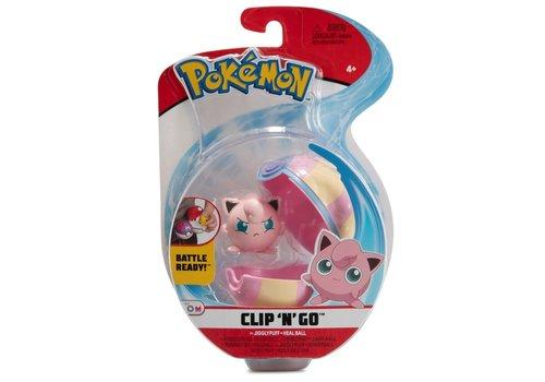 Pokémon - Clip 'n Go Jigglypuff & Heal Ball
