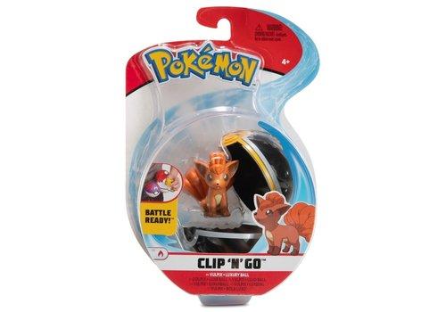 Pokémon - Clip 'n Go Vulpix & Luxury Ball