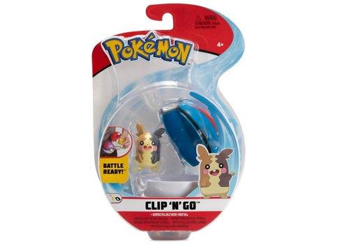 Pokémon - Clip 'n Go Morpeko & Poké Ball
