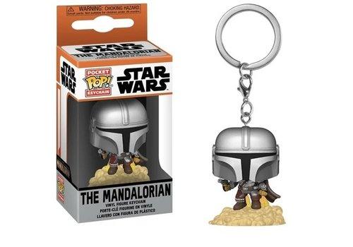 Star Wars The Mandalorian Pocket POP Keychain - The Mandalorian Flying