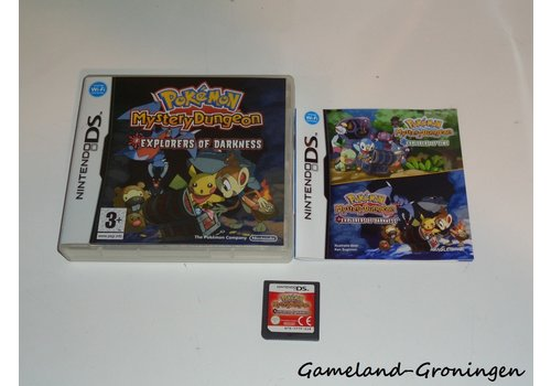 Pokemon Mystery Dungeon Explorers of Darkness (Complete, HOL)