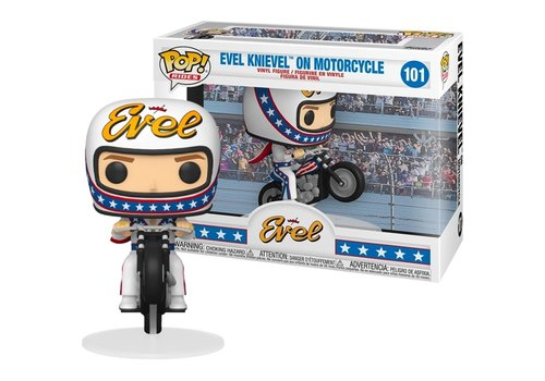 Icons POP! - Evel Knievel on Motorcycle