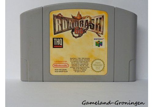 Road Rash 64 (EUR)
