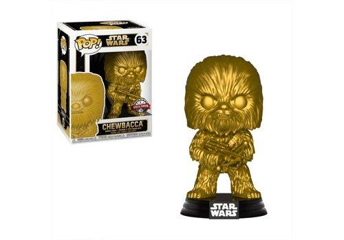 Star Wars POP! - Chewbacca (Metallic)
