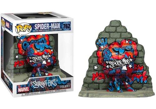 Marvel Deluxe POP! - Spider-Man (Street Art Collection) 6 Inch