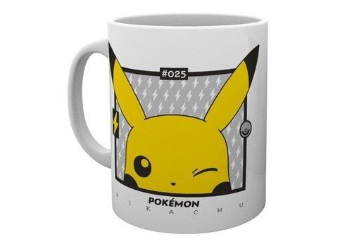Pokémon - Pikachu Wink 25 Anniversary Mok