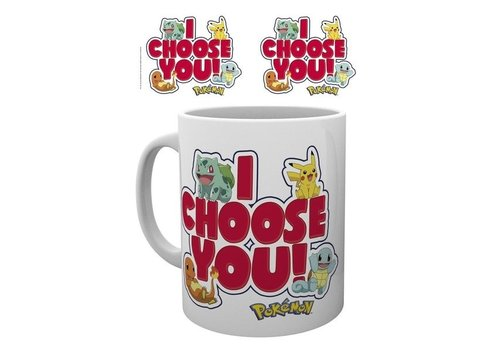 Pokémon - I Choose You Mok