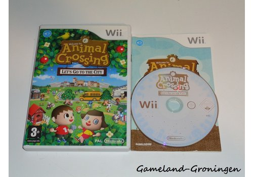 Animal Crossing Let's Go to the City (Compleet, HOL)