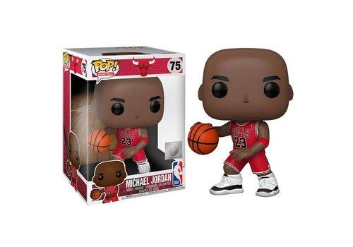 NBA Bulls POP! - Michael Jordan Red Jersey 10 Inch