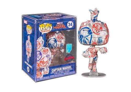 Marvel POP! - Captain Marvel Patriotic Age (Art Series)