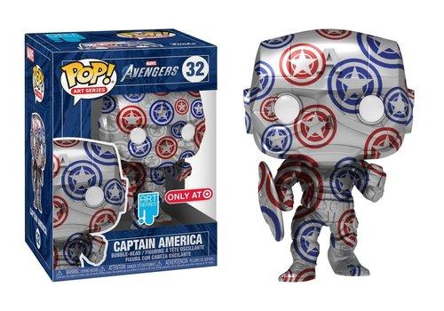 Marvel POP! - Captain America Patriotic Age (Art Series)