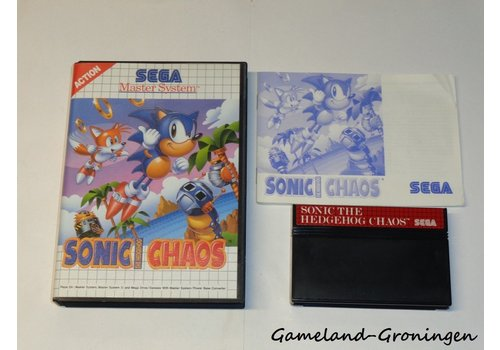 Sonic the Hedgehog Chaos (Compleet)