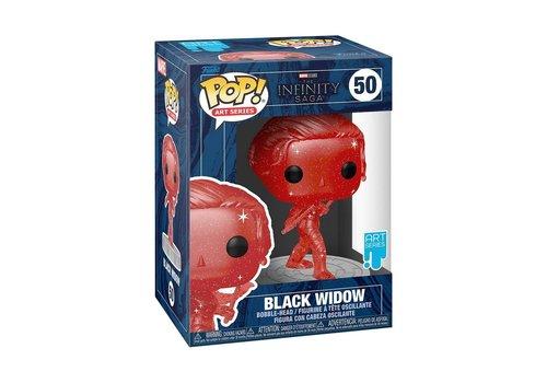 Marvel The Infinity Saga POP! - Black Widow (Art Series)